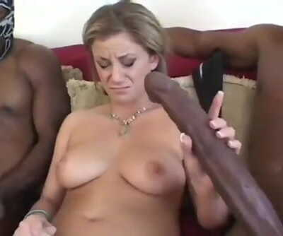 her pussy is on fire