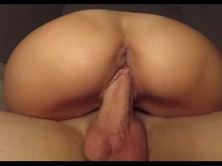 her first in the ass